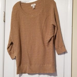 LOFT ribbed sweater